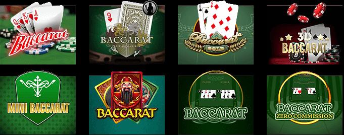 Các trò chơi tại Live Casino House